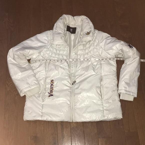buy online 42855 61c76 Women's Minnesota Vikings Down Puffer Jacket XXL